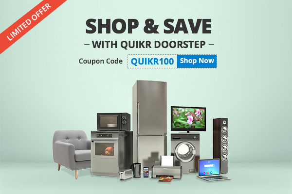 Quikr Doorstep - Discount Coupon Campaign